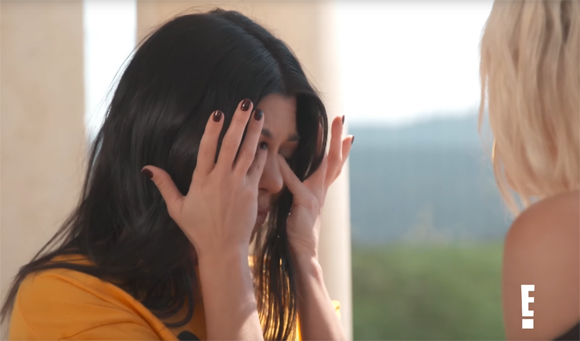 Kourtney Kardashian Crying