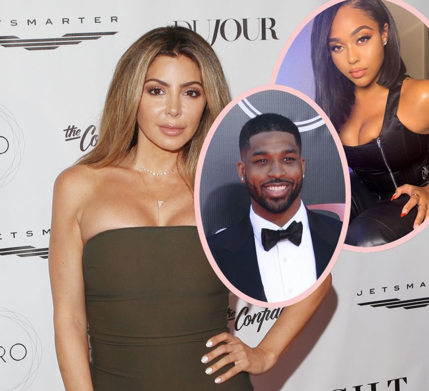 f9f27ef459f Larsa Pippen Claims 'There Were Other Situations' With Jordyn Woods &  Tristan Th ..