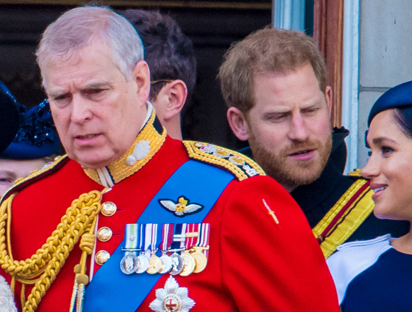 Prince Andrew at 2019 Trooping The Colour