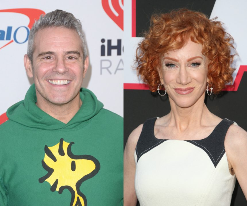 Kathy Griffin Says Former Boss Andy Cohen 'Treated Me Like A Dog'