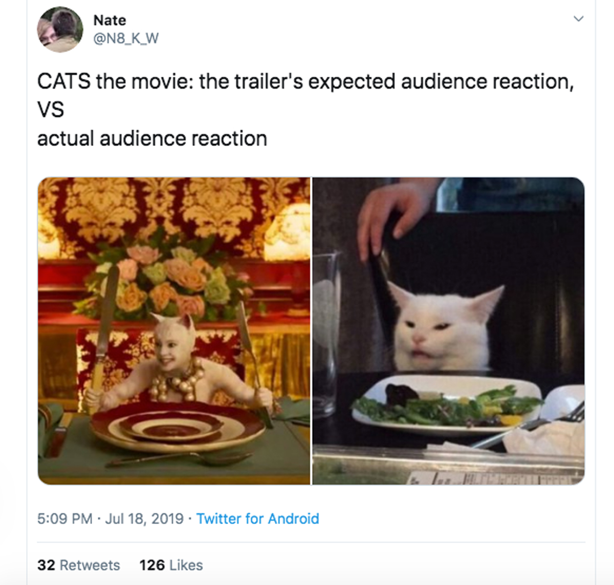 Twitter Has A LOT Of Thoughts About The New \u0027Cats\u0027 Trailer