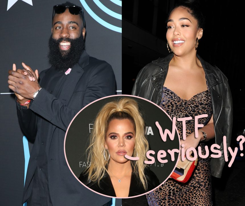 Jordyn Woods snapped partying with Khloe Kardashian's ex James Harden
