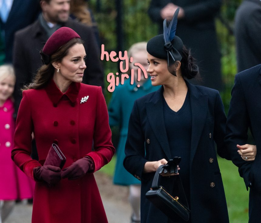 Meghan Markle's Relationship With Kate Middleton Is