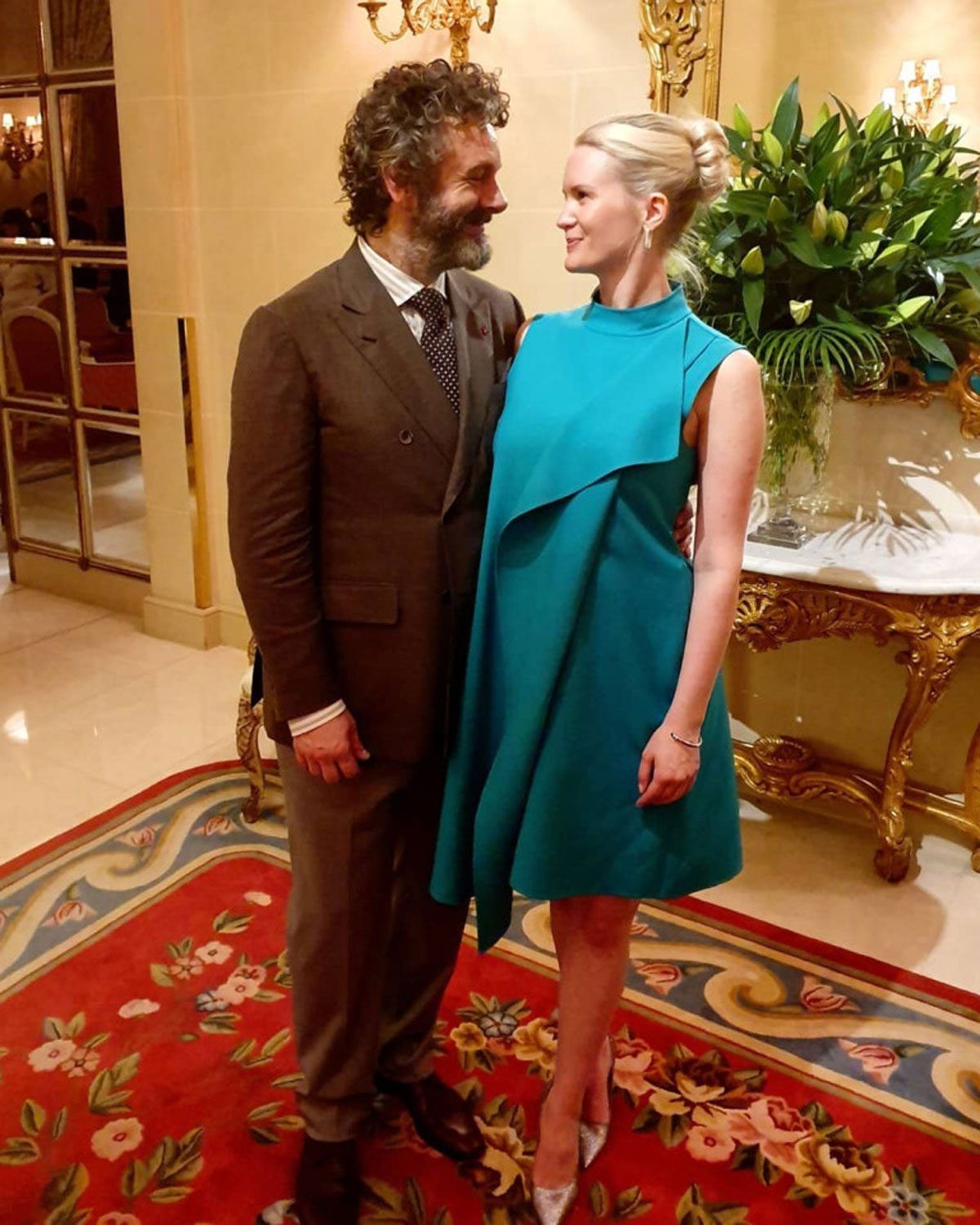 50-Year-Old Michael Sheen Is Having A Baby With His 25-Year-Old Girlfriend!