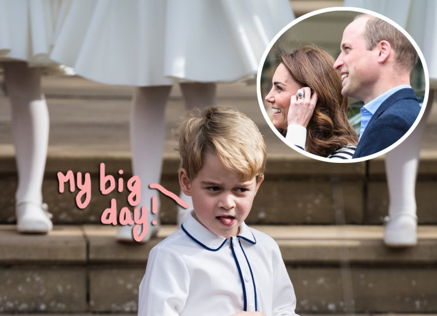 Prince George Marks 6th Birthday with Adorable New Photos