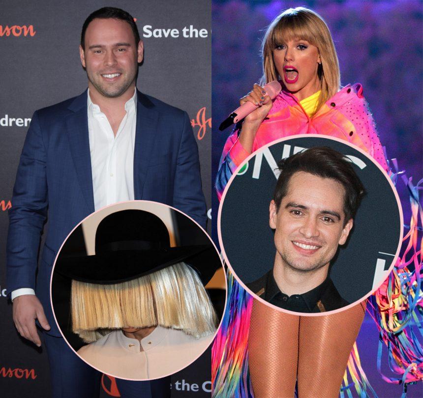 More Celebs Take Sides: Brendon Urie Backs Taylor Swift, Sia