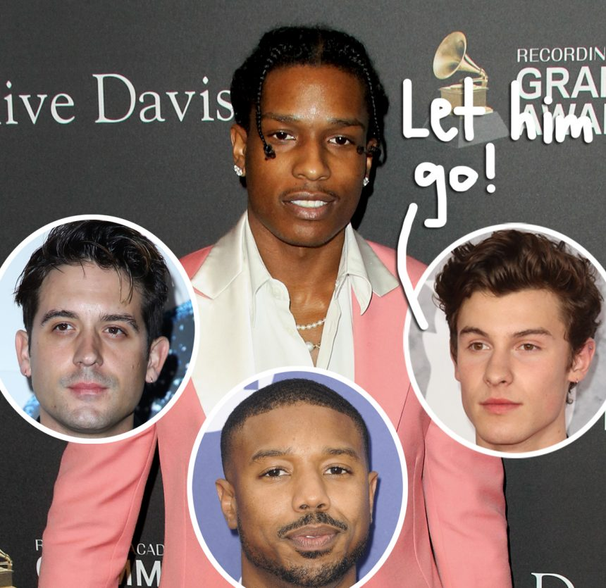 Justin Bieber, Diddy and more call for A$AP Rocky's release