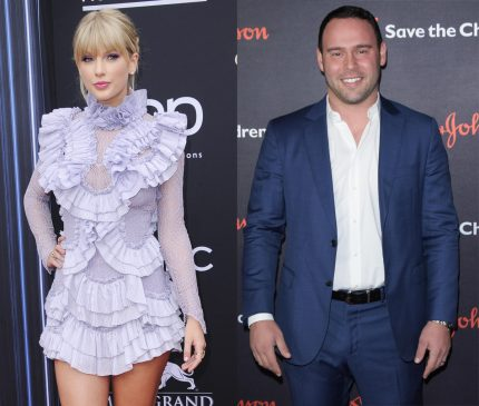 Taylor Swift Scooter Braun ghosted