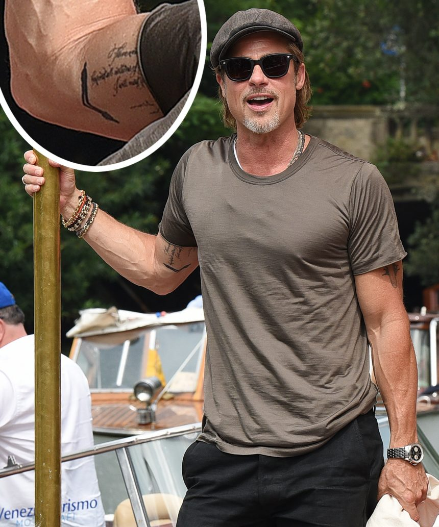 Angelina Jolie Tattoos 2019: Does Brad Pitt's New Tattoo Mean He's Not Over Angelina