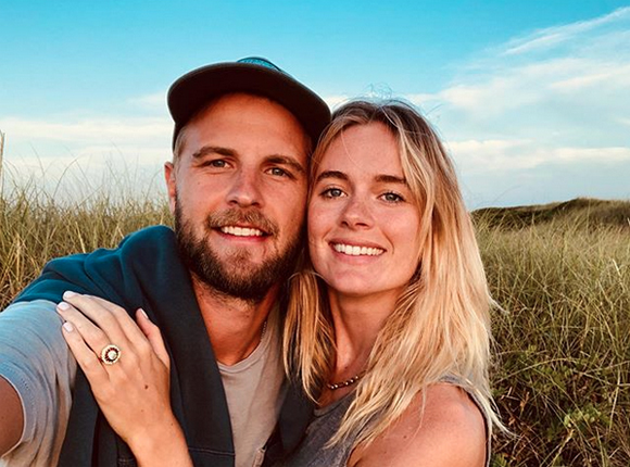 Cressida Bonas and new fiance Harry Wentworth-Stanley
