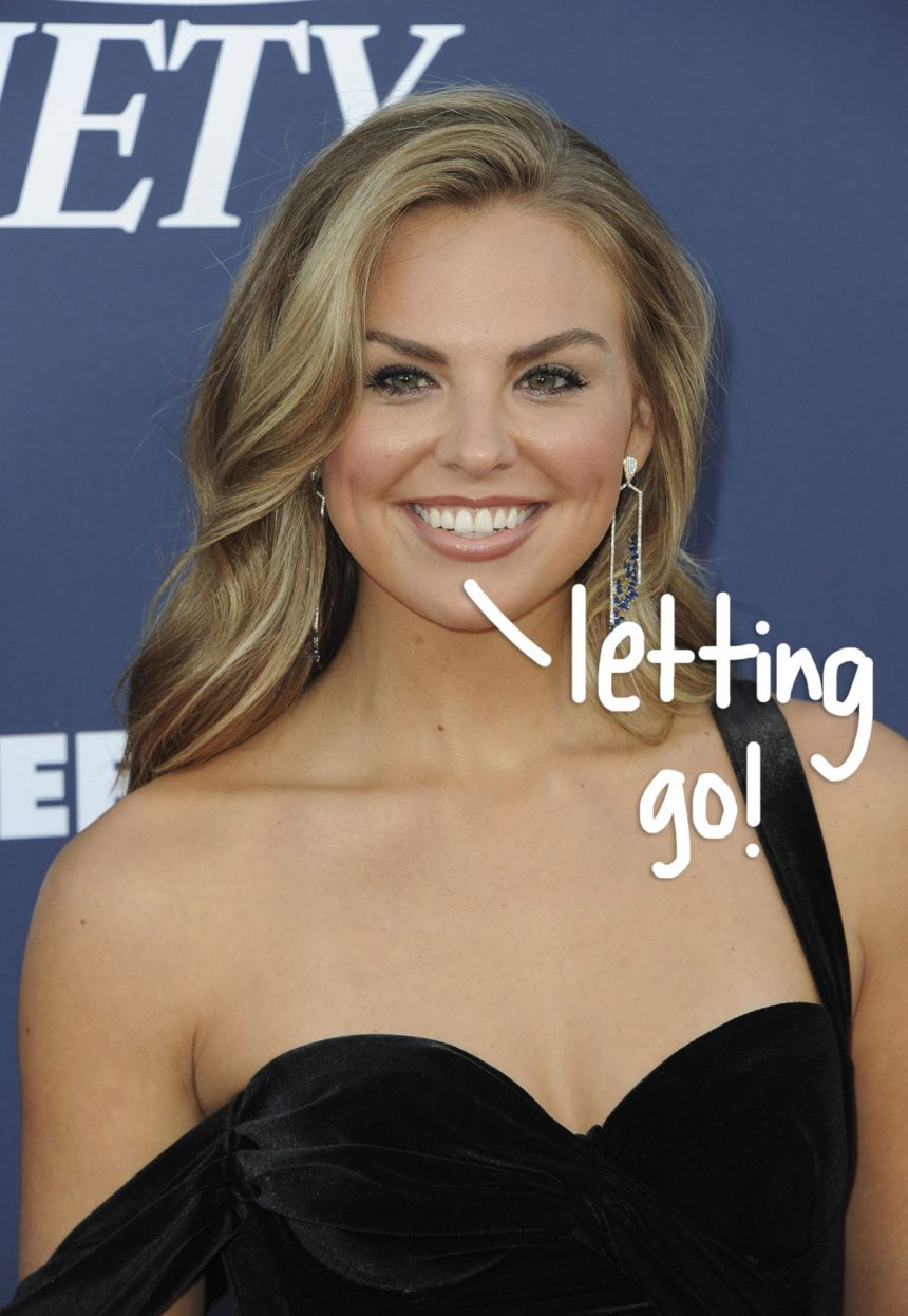 Bachelorette Hannah Brown Posts About Letting Go After Tyler
