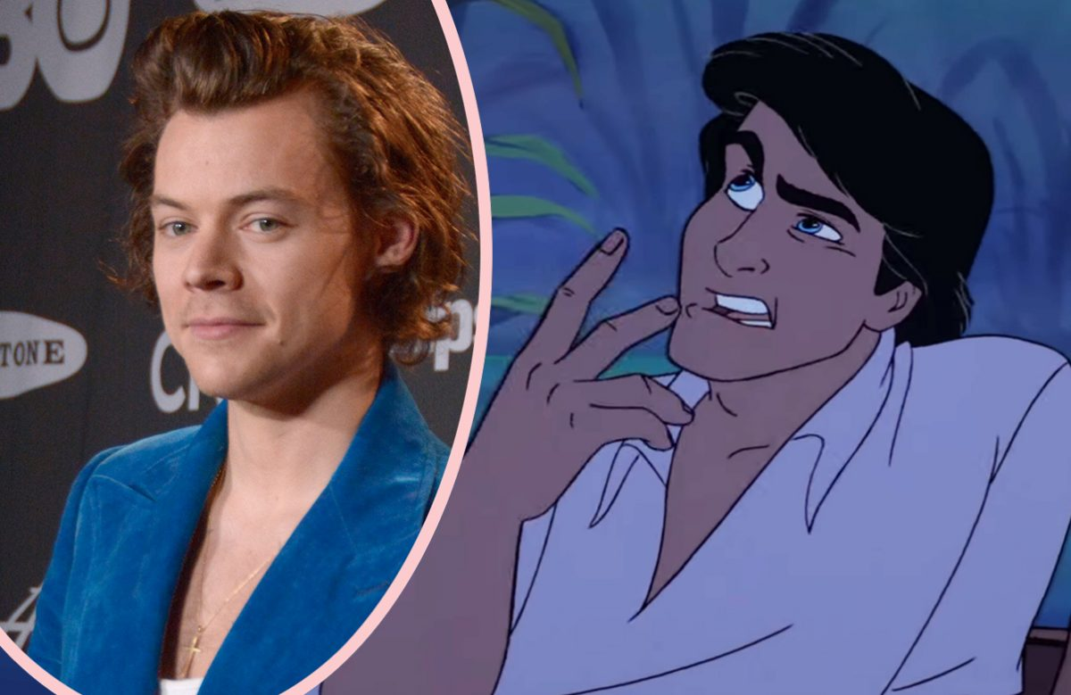 Harry Styles PASSES On Prince Eric Role!
