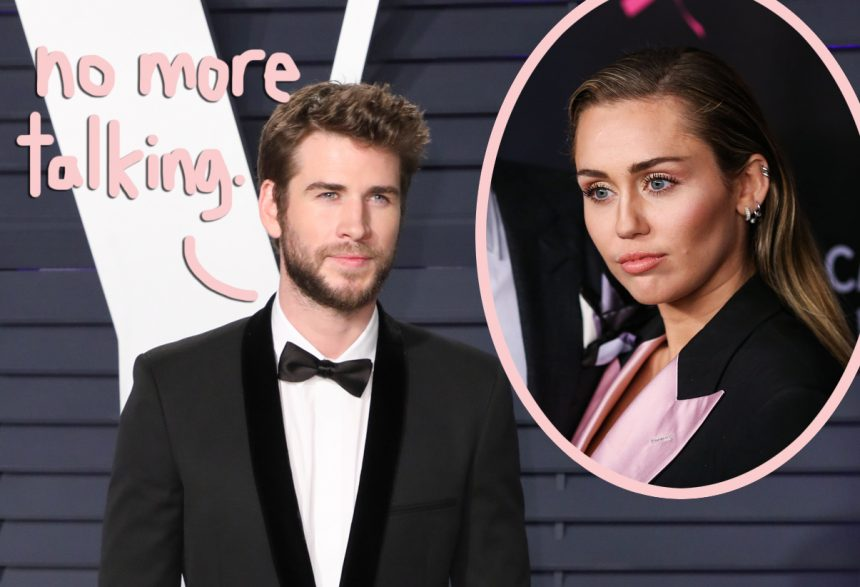 'There Is Nothing To Say' — Liam Hemsworth Slammed The Door On Miley Cyrus Reconciliation!