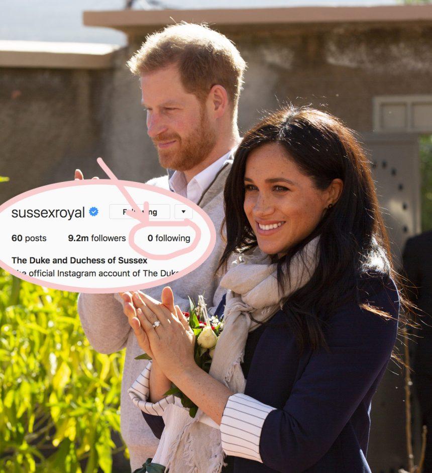 5 Instagram Accounts Meghan Markle & Prince Harry Should