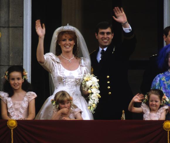 Prince Andrew Sarah Ferguson wedding