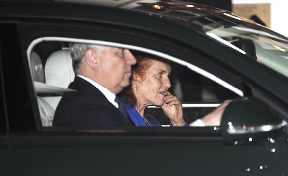 Prince Andrew and Sarah Ferguson 2017