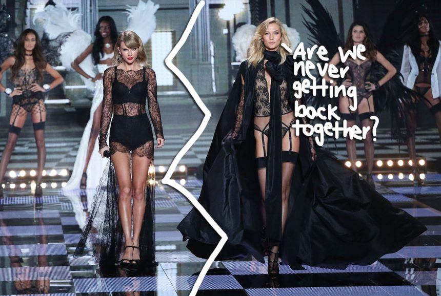 Taylor Swift Ended Her Relationship With Karlie Kloss Over