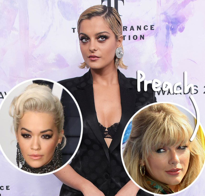 Taylor Swift, Rita Ora, & More Artists Applaud Bebe Rexha For Calling Out Ageism In The Music Industry! - Perez Hilton