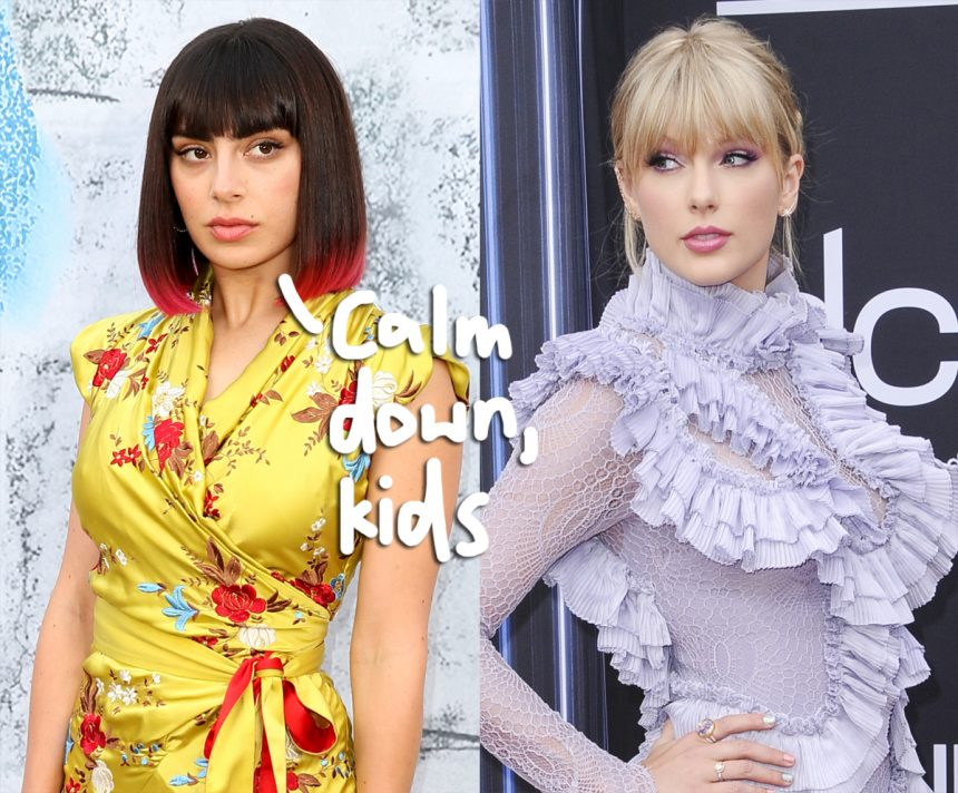 Charli XCX Calls Taylor Swift Fans Children, Clarifies She Likes Children