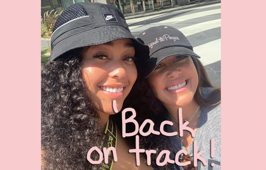 Jordyn Woods - And Her Mom - Get Real About Mental Health
