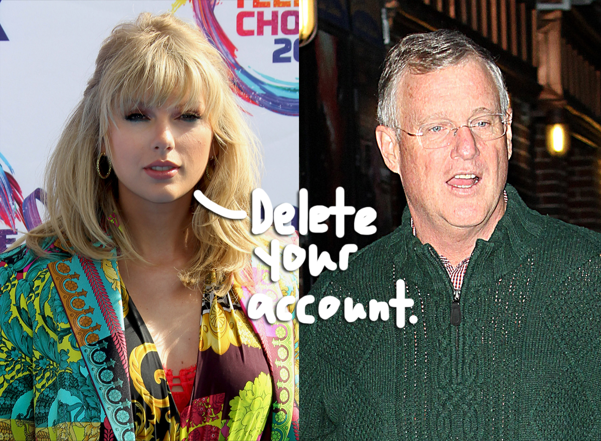 Taylor Swift S Dad Reportedly Deletes Facebook Account After Fans Accuse Him Of Posting Right Leaning Memes Perez Hilton