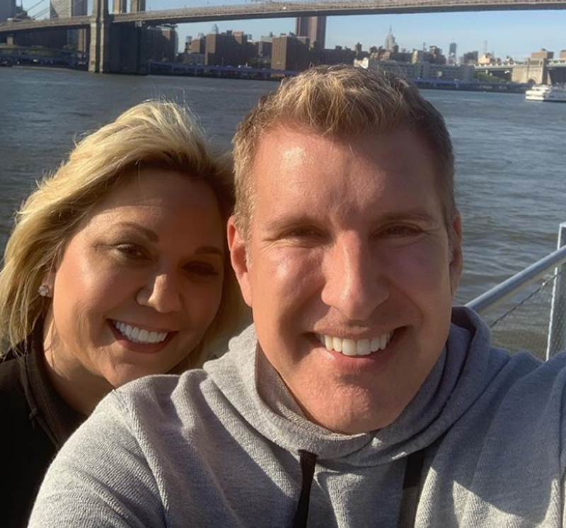 Todd Chrisley Julie Chrisley