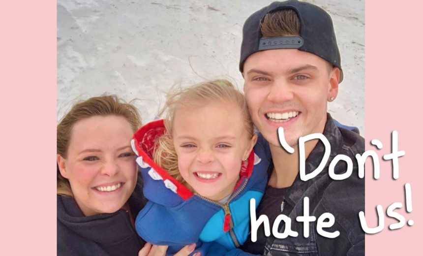 'Teen Mom OG' Stars Tyler Baltierra & Catelynn Lowell Defend Being Late To Reunion With Daughter They Gave Up For Adoption!