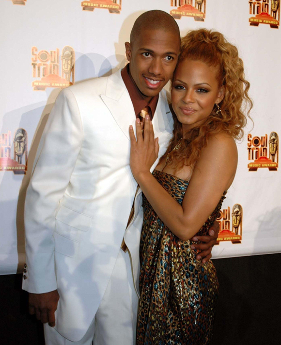 Christina Milian and Nick Cannon in happier times back in 2005