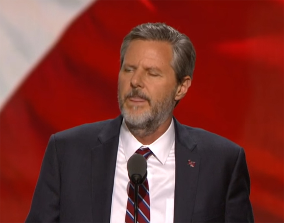 Religious Leader Jerry Falwell Jr  Won't Stop Talking About
