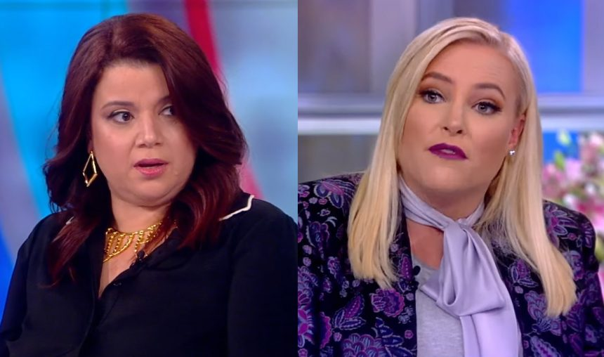Meghan McCain Storms Off After ANOTHER Heated Exchange On 'The View'!
