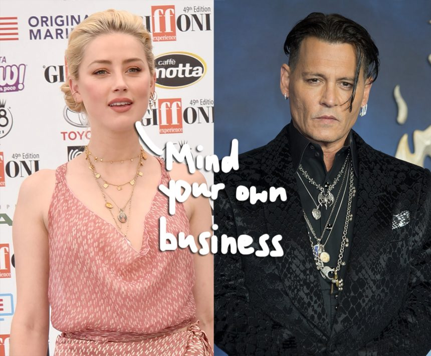 Amber Heard Trying To Keep Joh...