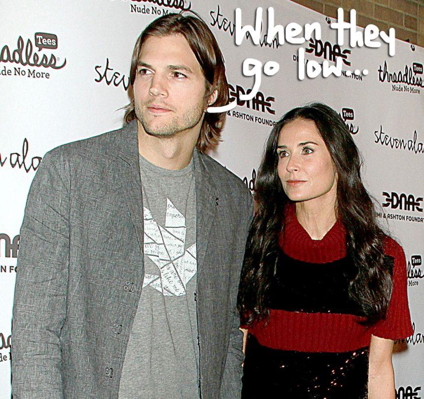 Ashton Kutcher Resists...