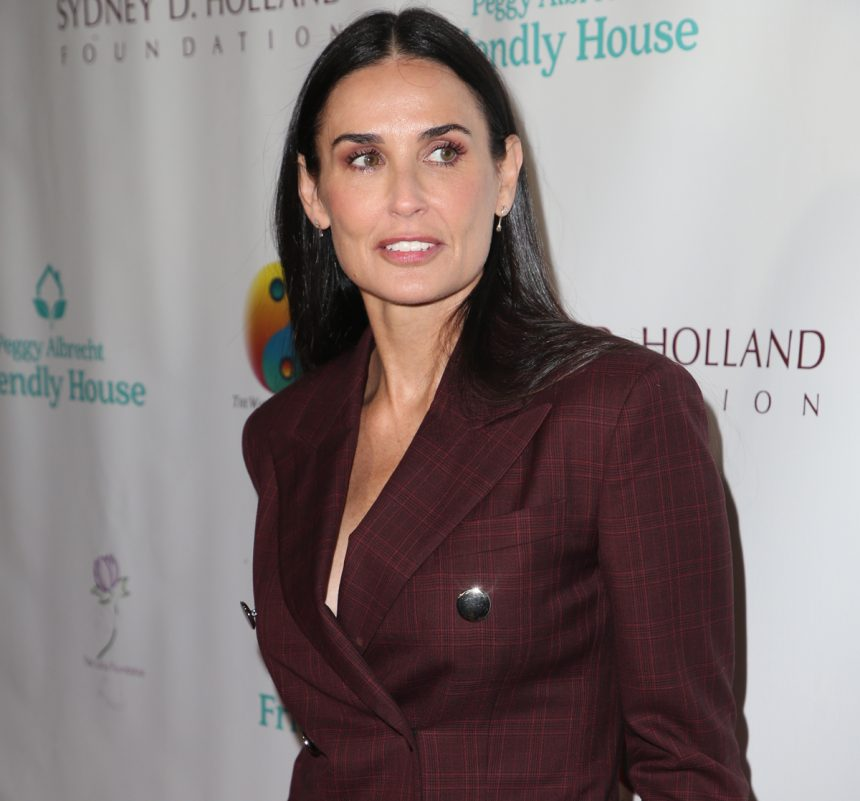 Demi Moore Opens Up About Being Raped At 15 - Perez Hilton