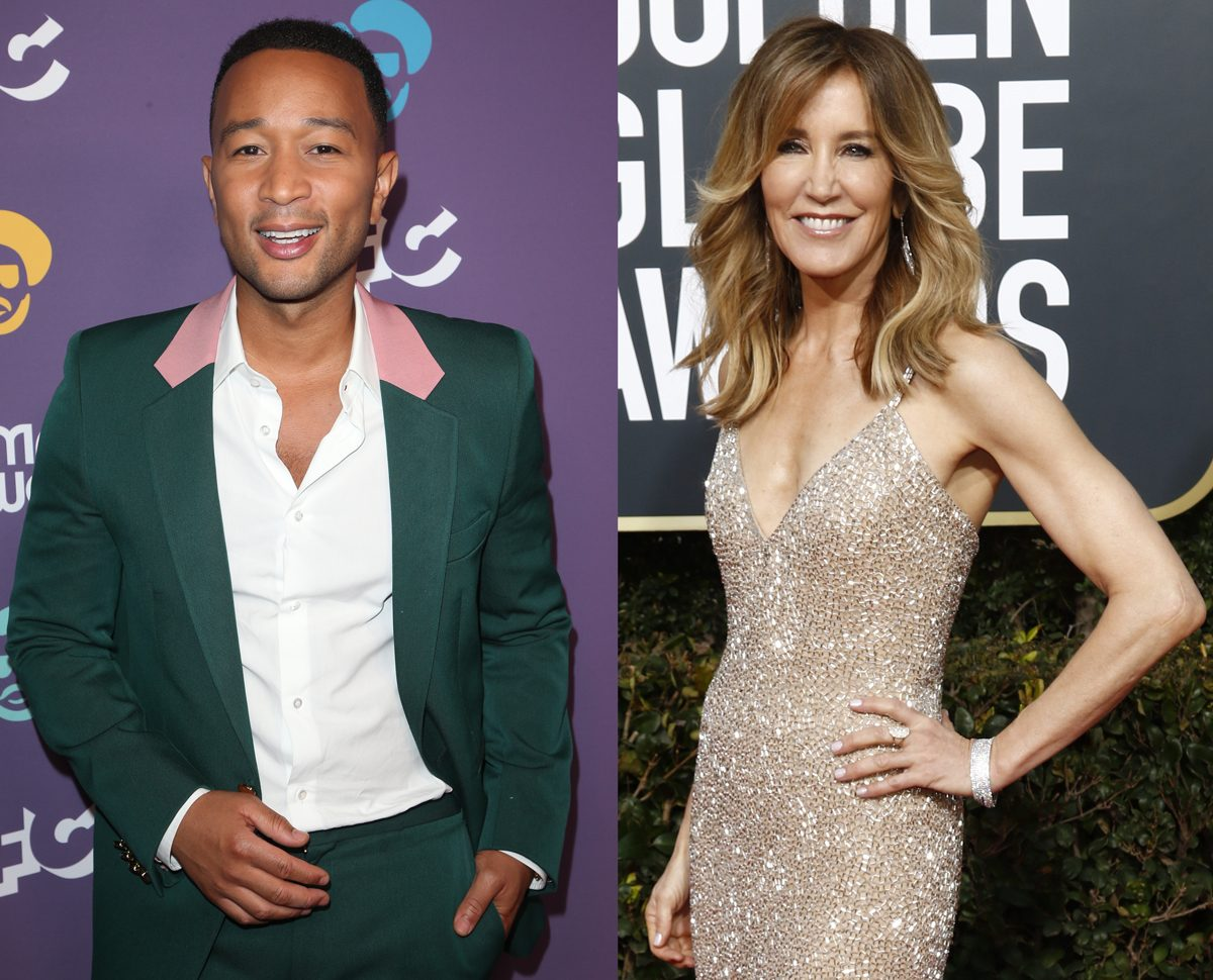 John Legend Speaks Out About Felicity Huffman's 14-Day Prison Sentence!