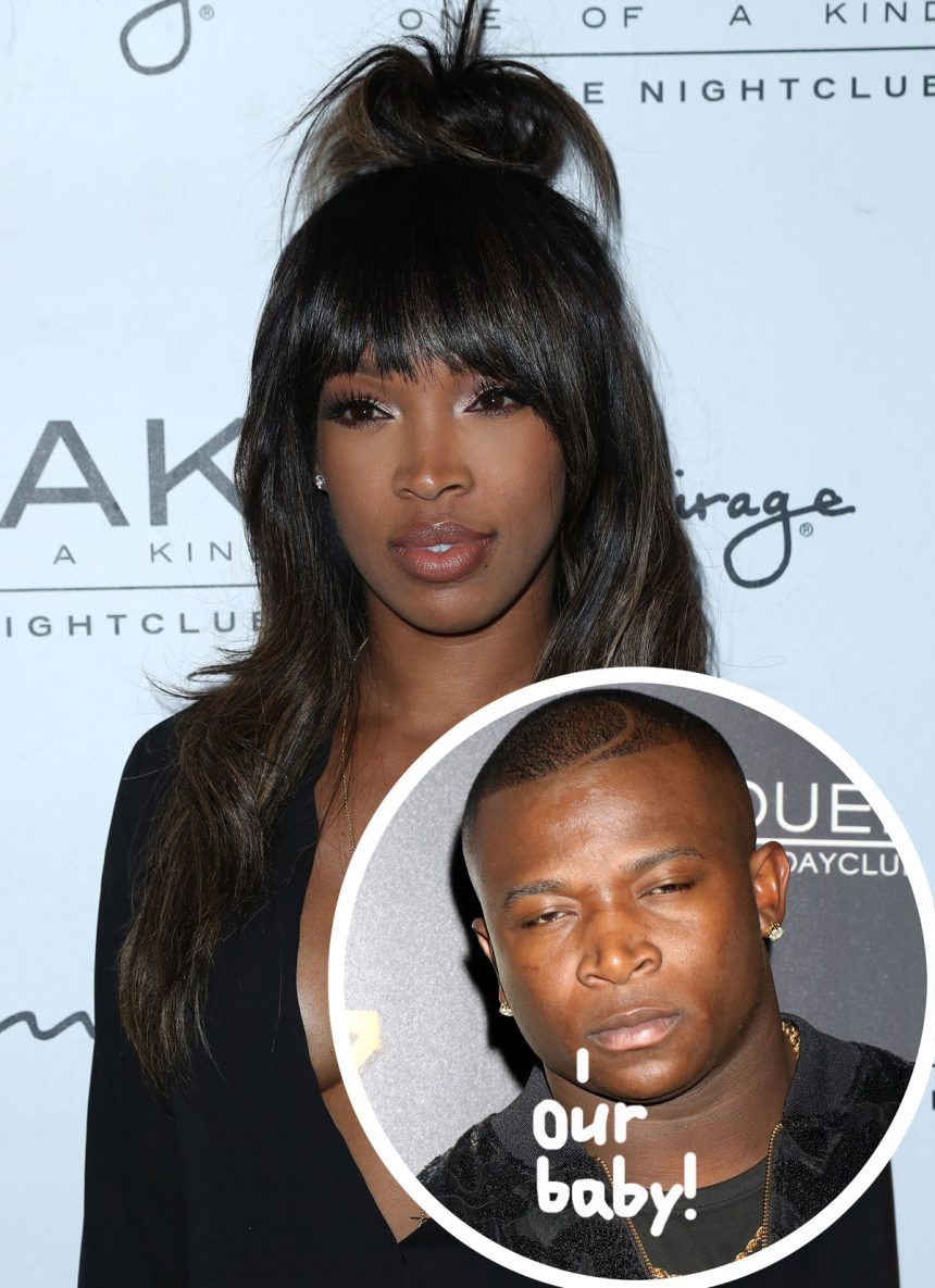Pregnant Malika Haqq Shares First Photo Of Bump As Ex O.T. Genasis Is Reported As The Father Of Her Baby!
