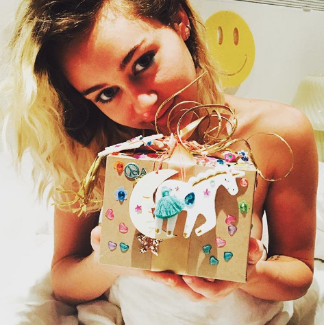 miley cyrus liam angel instagram post