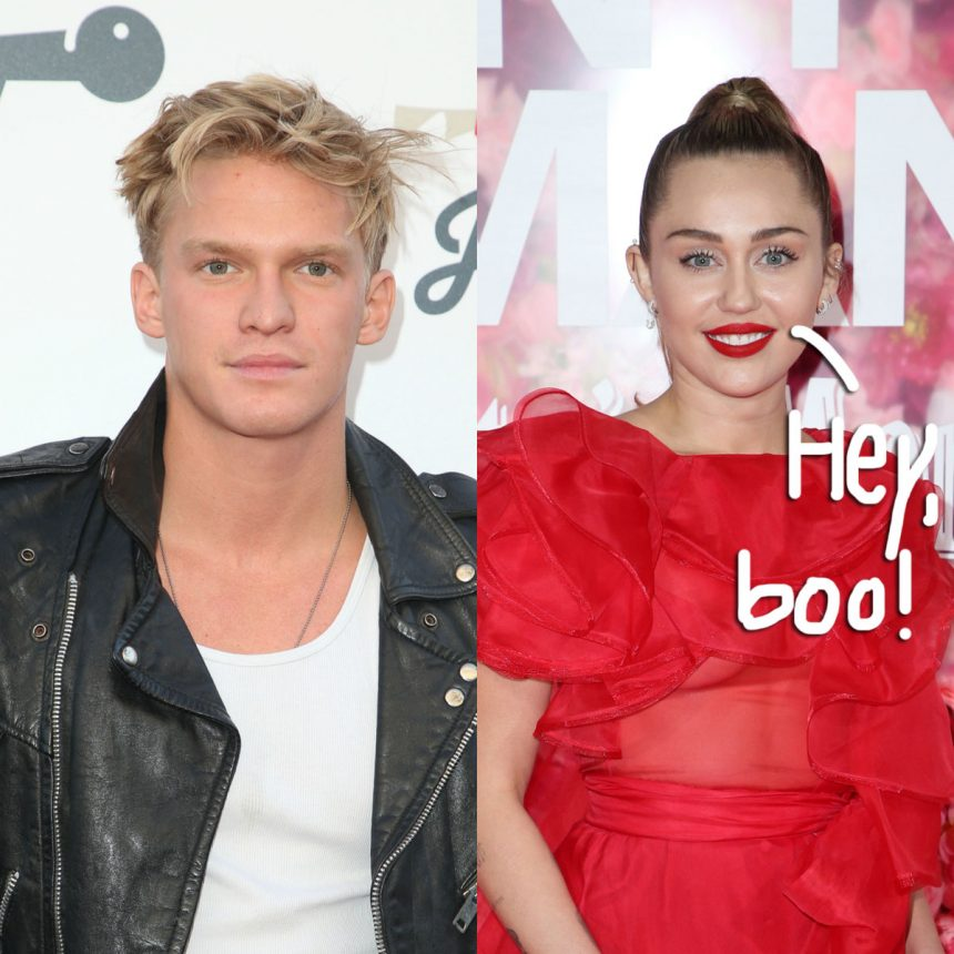 Miley Cyrus Gets Serenaded By New 'BF' Cody Simpson In The ...