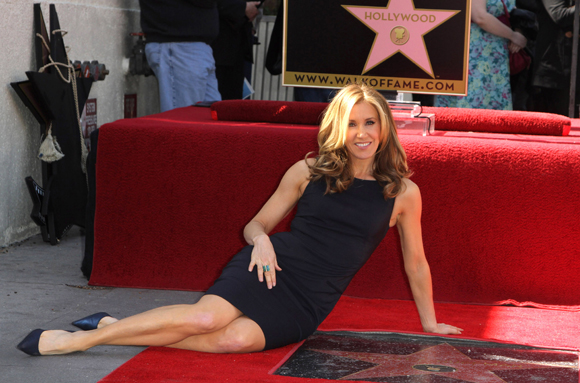 Felicity was honored with a star in 2012