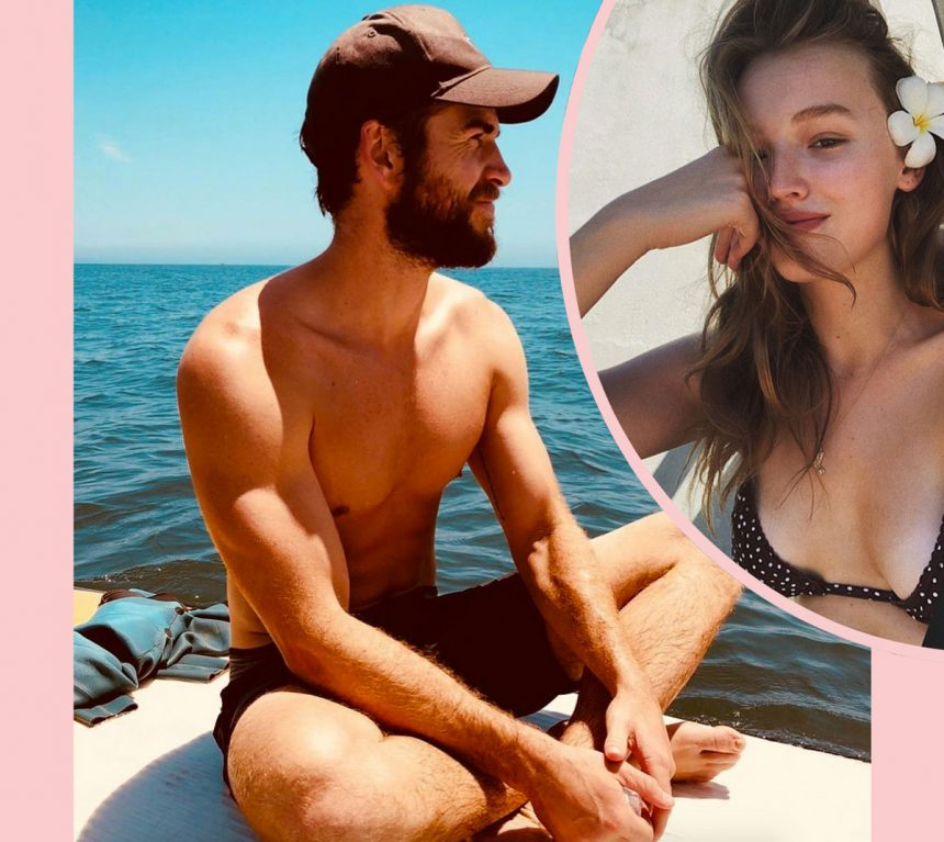 Liam Hemsworth Is ALL OVER His New Girl Maddison Brown ...
