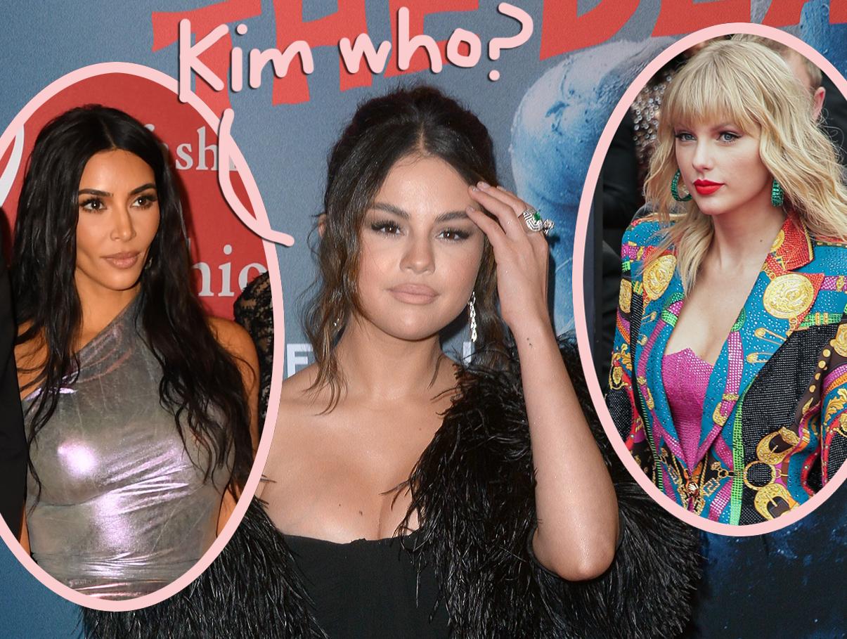 Selena Gomez DELETES Kim Kardashian Promo & Replaces It With Taylor Swift  Appreciation Post! - Perez Hilton