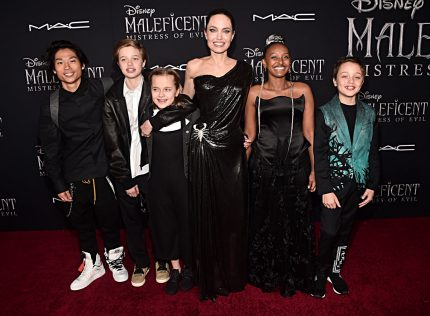 Angelina Jolie and her family hit the red carpet!