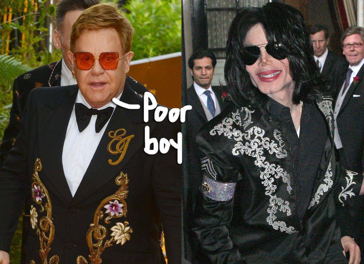 Elton John Claims Michael Jackson Was 'Mentally Ill' & 'Disturbing To Be Around'