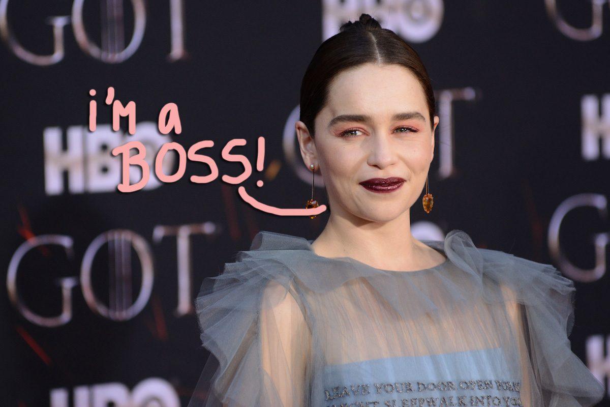 Emilia Clarke Says Playing Daenerys Targaryen Gave Her Major 'Lady Balls'