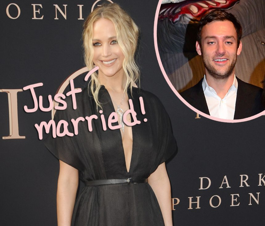 Jennifer Lawrence Cooke Maroney Are Officially Married