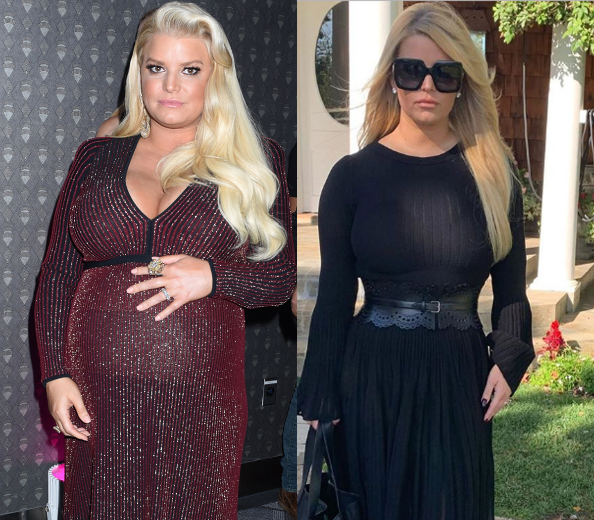 Jessica Simpson body transformation
