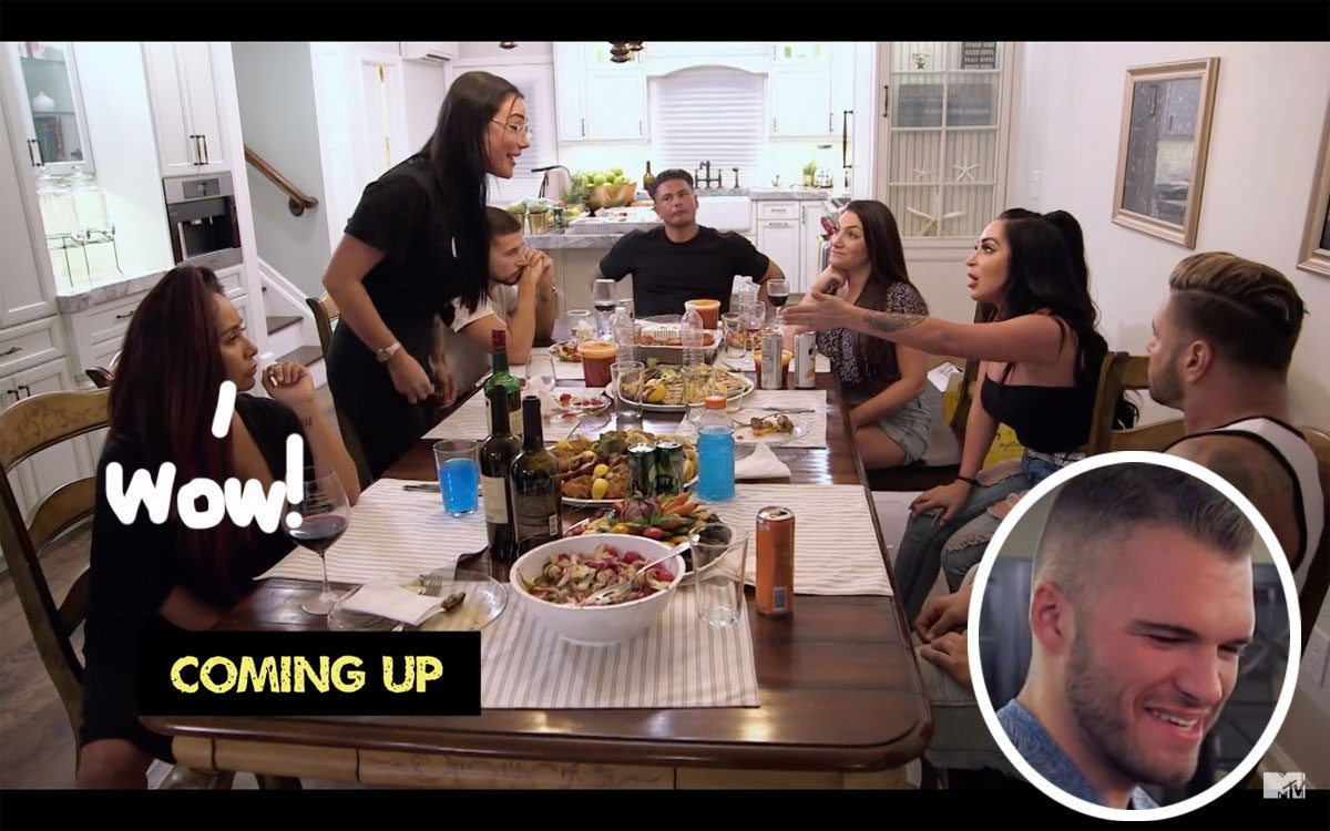 Angelina Jersey Shore Sexy jwoww & angelina pivarnick almost get physical in explosive