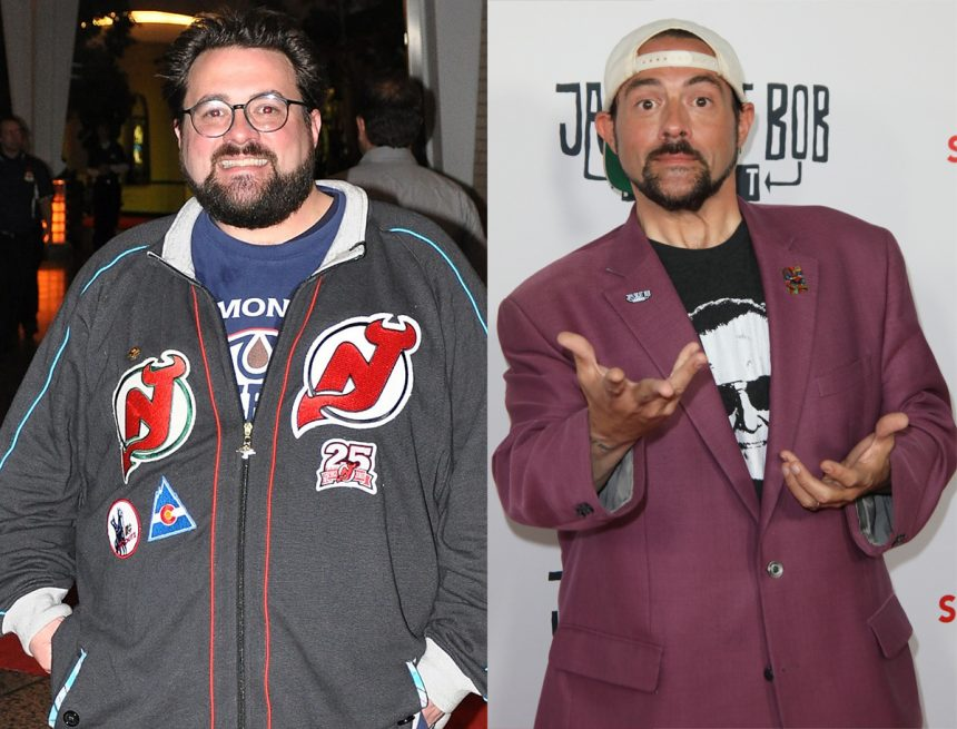 Kevin Smith celebrity body transformations