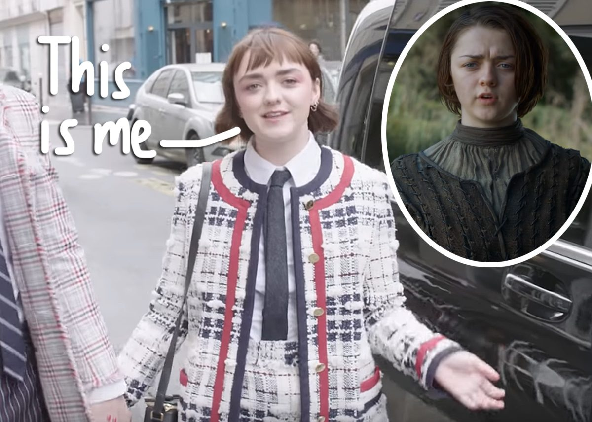 Maisie Williams Says Playing Arya Stark Made Her Feel 'Kind Of Ashamed' About Her Body!