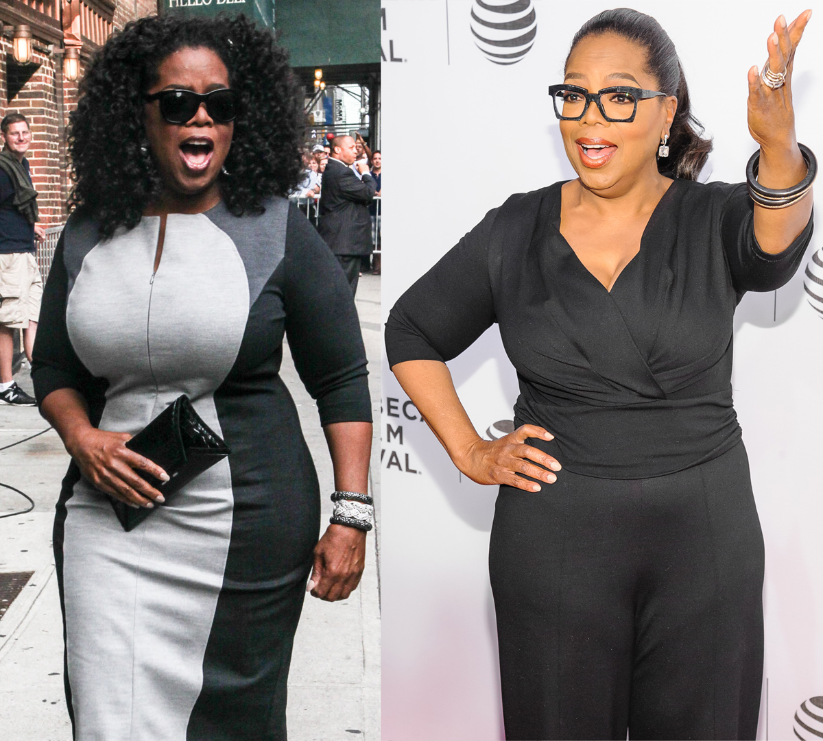 Oprah Winfrey body transformation