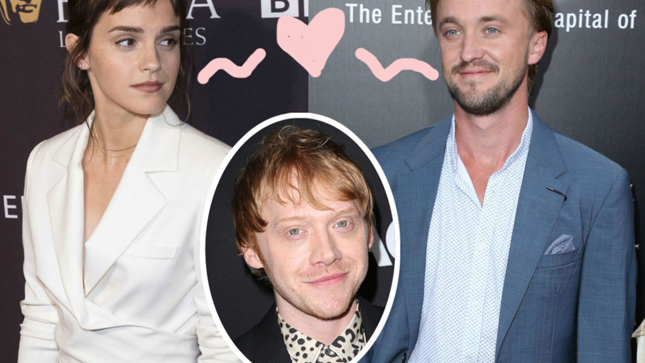 Rupert Grint Says Harry Potter Costars Emma Watson Tom Felton Always Had Sparks As The Pair Fuels Dating Rumors Perez Hilton